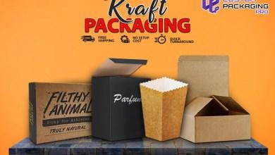 Photo of Cardboard Kraft Packaging Offering Environmental Benefits
