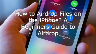 Airdrop Files Saved
