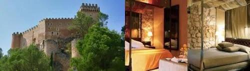 Alojarse en una fortaleza árabe: el Parador Nacional de Turismo de Alarcón