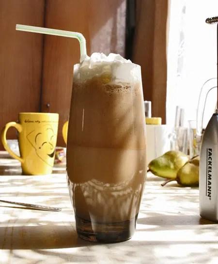 Cafe Frappe: Ligero sin renunciar a todo el sabor.