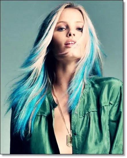 Color del cabello para el 2013