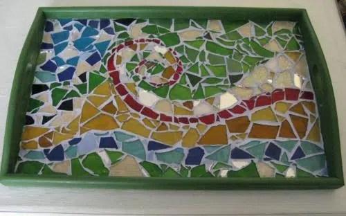 Cómo hacer una bandeja tipo Gaudi