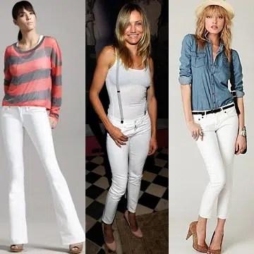 Cómo usar ropa blanca?