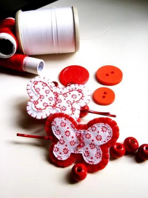 Crea tus propios accesorios de moda. Para hoy: Mariposas.