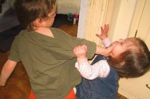 Cuando los niños son agresivos