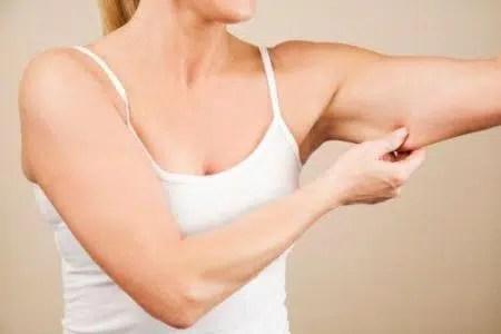 Cuidado de la piel durante la pérdida de peso