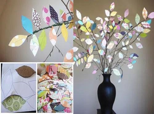 decoracin de un jarrn con alambre y papel de colores