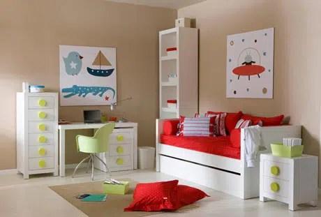 Decoración para la habitación de los niños