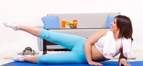 Ejercicios para hacer en el sofá