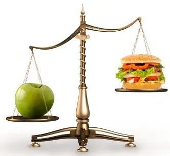Balanza saludable