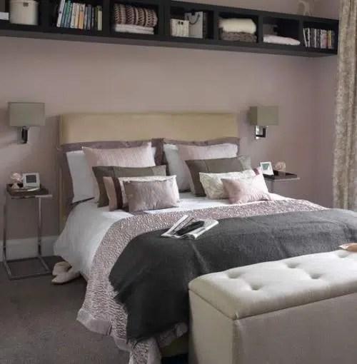 La decoración de un dormitorio pequeño