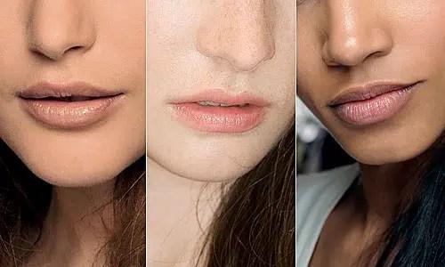 Labios con o sin color?