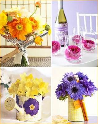 Las flores, el adorno más natural