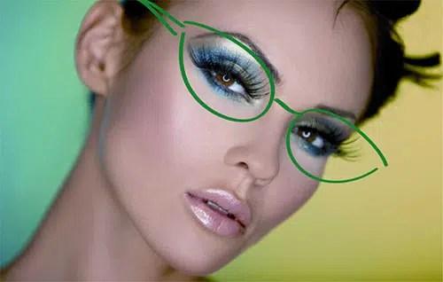 Linda y con gafas