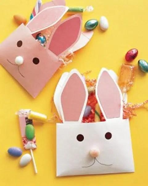 Manualidades de Pascua: sobres para las golosinas