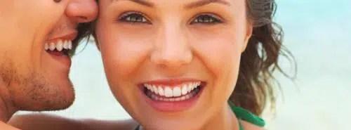 Obsesión con la dentadura blanca