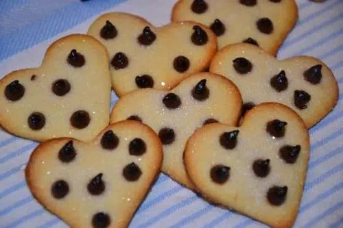 Para San Valentín: Cookies de Chocolate