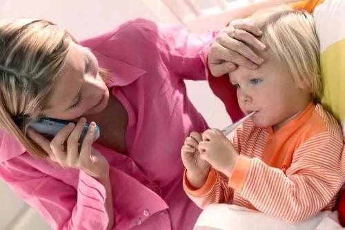 Qué hacer cuando el niño tiene fiebre