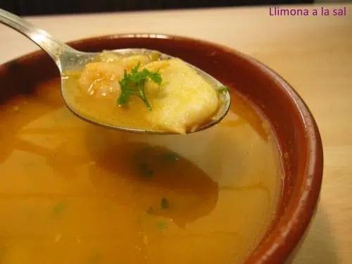 Sopa de bacalao
