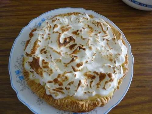 Tarta de Manzana Merengada.