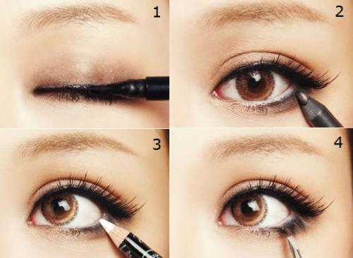 Tipos de delineadores de ojos