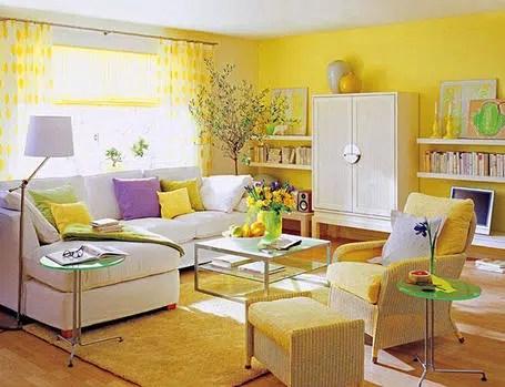 Un desafío en la decoración: el color amarillo