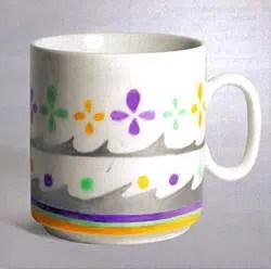 Un regalo fácil y divertido: una taza decorada