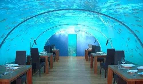 Un restaurante de gran belleza: el Submarino L