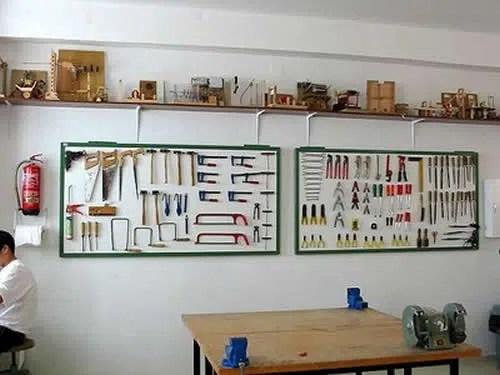 Un taller de bricolaje para tener todo a mano