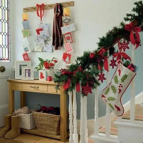 Una bota de Navidad para meter regalos dentro