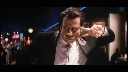 Una cinta emblemática que cumple 18 años: Pulp Fiction