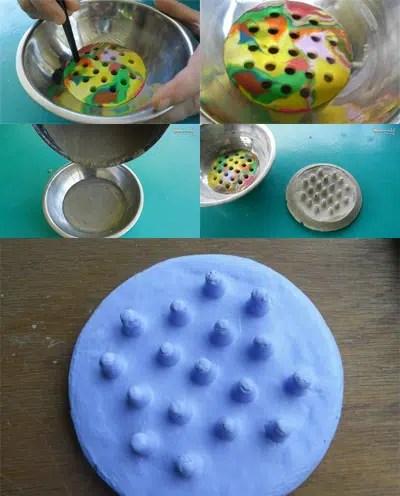Una práctica y decorativa jabonera para tu baño