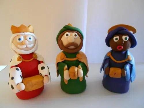 Unos majestuosos Reyes Magos