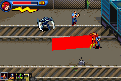 Download Justice League Heroes The Flash Rom
