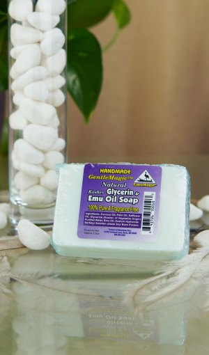 GentleMagic™ Emu Oil & Glycerin Soap 3.5oz Hand Bar