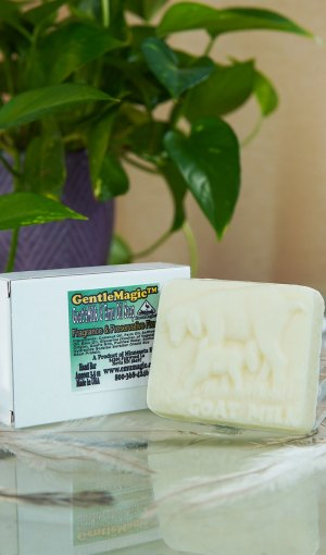 GentleMagic™ Emu Oil & Goats Milk Soap 3oz Bar