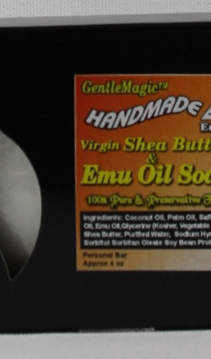 GentleMagic™ Emu Oil & Shea Butter Soap 4oz Bar