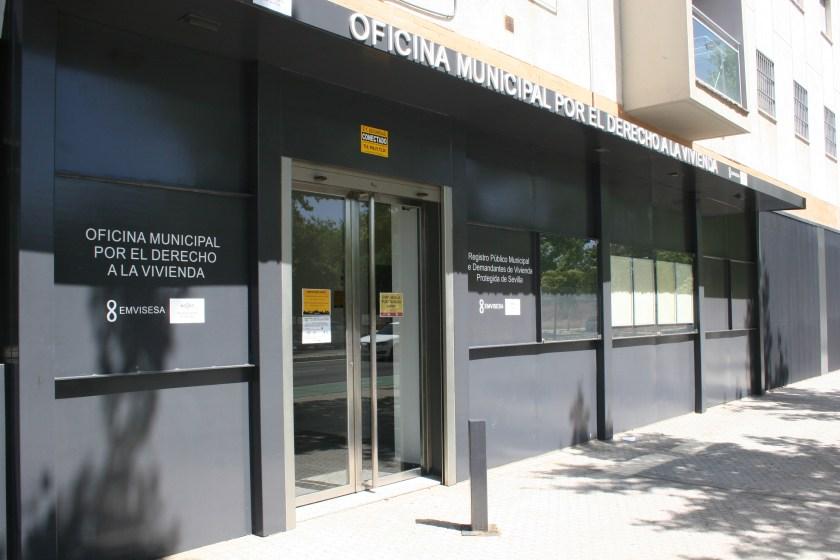 Oficina del Registro Público Municipal de Demandantes de Vivienda de Sevilla.