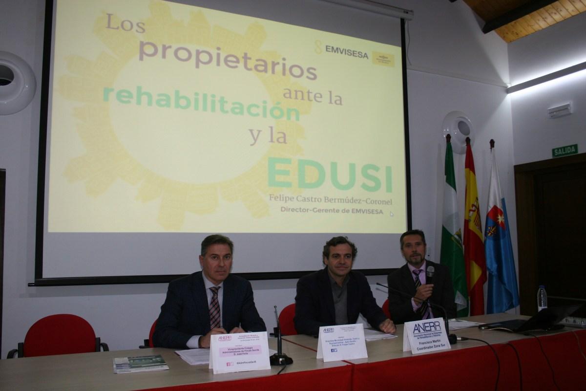 """EMVISESA ante la rehabilitación y la """"Estrategia de Desarrollo Urbano Sostenible e Integrado""""."""