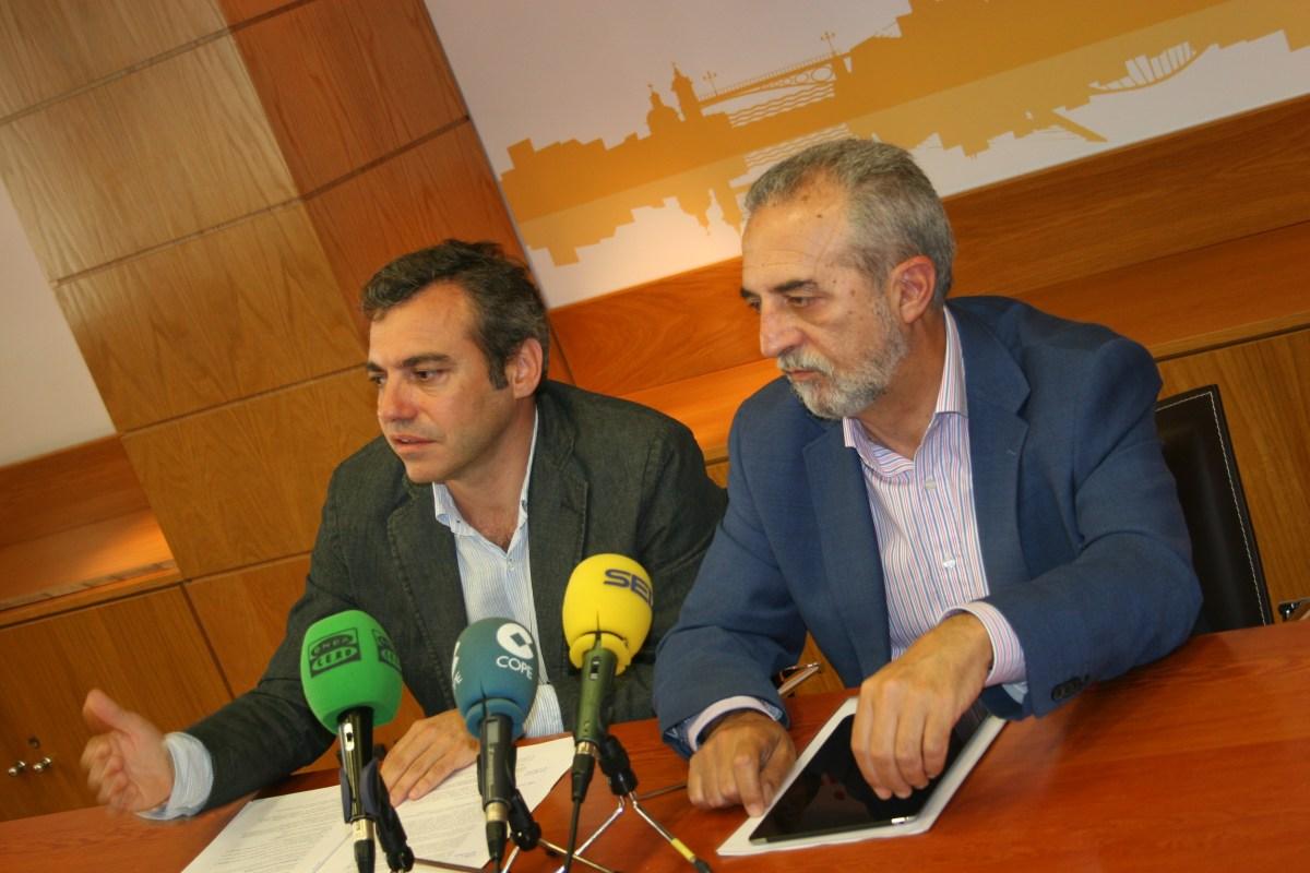 Juan Manuel Flores y Felipe Castro.