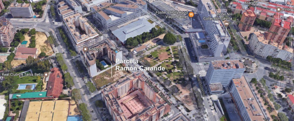Emvisesa amplía el plazo de presentación de ofertas para la permuta de la parcela de Ramón Carande.