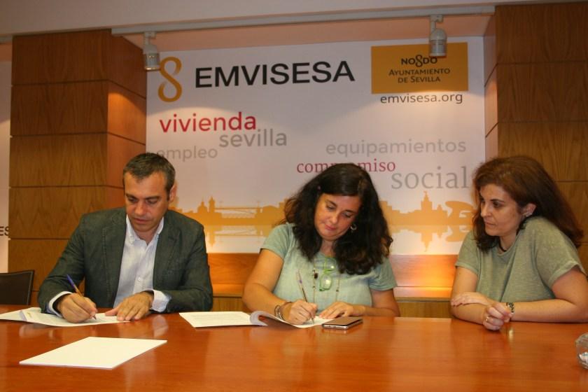 Felipe Castro, Mª Paz Casillas y Alicia Puerto.