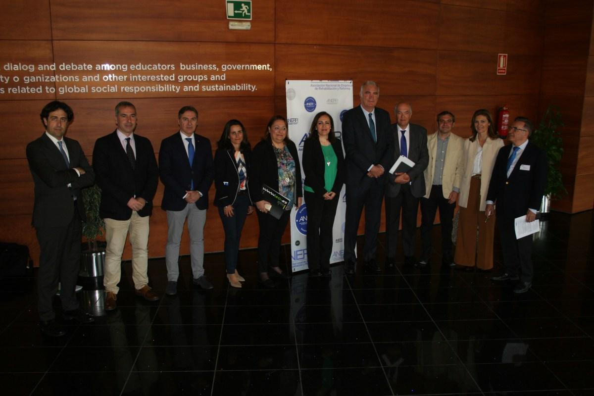 Clausura del Foro Nacional de Rehabilitación, Eficiencia y Sostenibilidad que ha contado con la participación de representantes de la Administración y la Empresa privada.