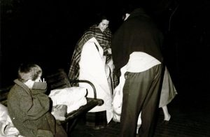 Un fuerte terremoto de 7,3 grados hizo que miles de sevillanos desalojaran sus casas durante la madrugada del 28 de febrero de 1969 - FOTO: Hemeroteca ABC.