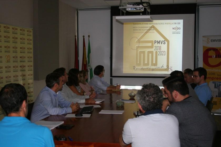 Presentacion del PMVS a la Mesa Ciudadana.