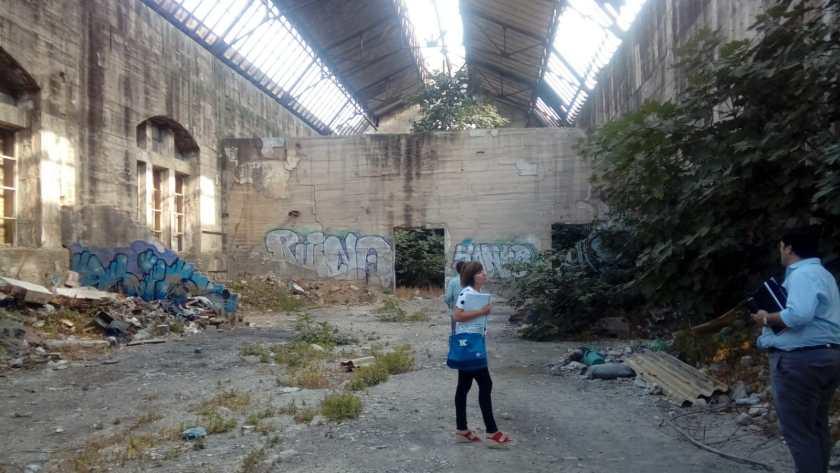 El proyecto de centro de innovación se desarrolla sobre un edificio de patrimonio industrial protegido con nivel C y abandonado desde hace décadas.