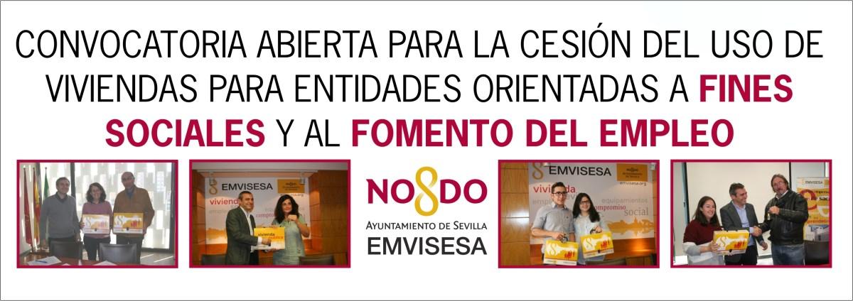 Emvisesa abre la convocatoria para adjudicar viviendas a entidades sin ánimo de lucro cuya finalidad sea el impulso del empleo y el fomento de actividades sociales