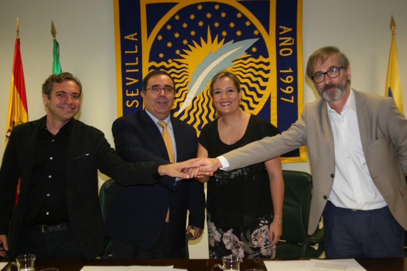 Convenio Emvisesa y Universidad Pablo de Olavide (UPO). Emvisesa y la Universidad Pablo de Olavide han suscrito un convenio que ya ha facilitado prácticas a 2 alumnas de la UPO.
