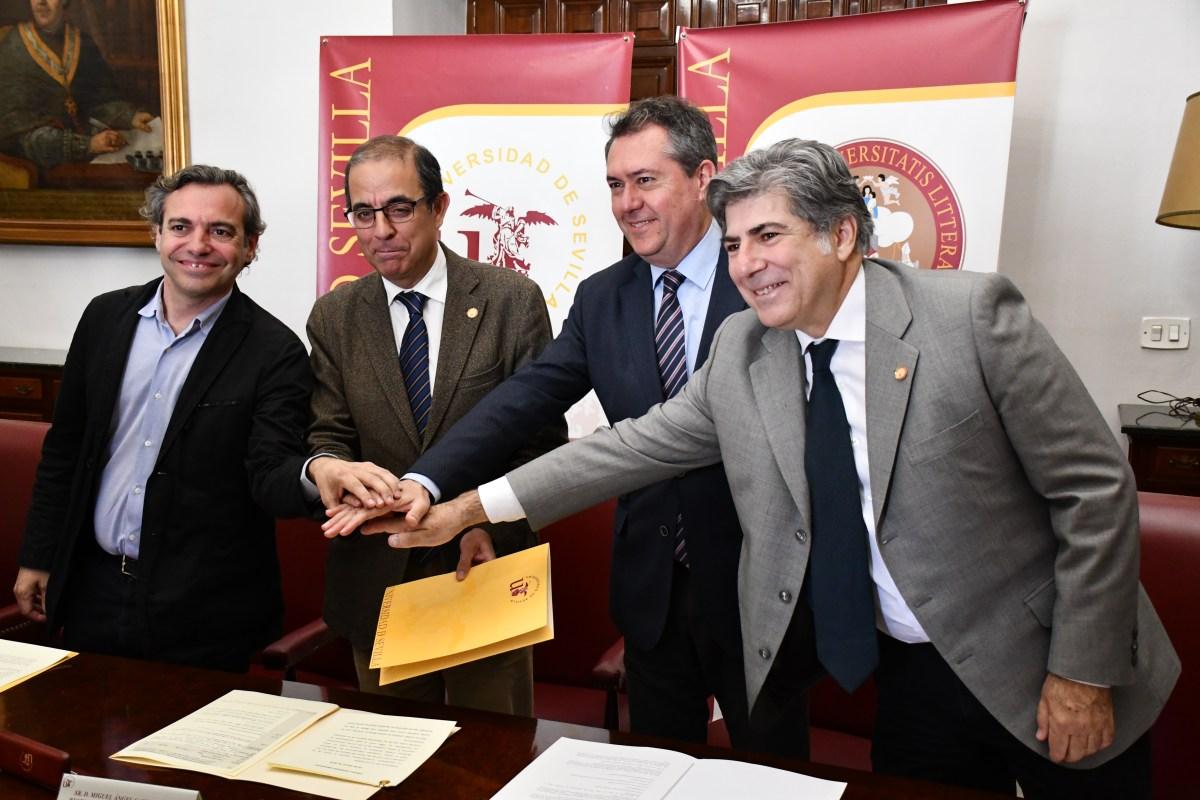 """El Ayuntamiento y la Universidad de Sevilla crean la """"Cátedra de Vivienda Emvisesa"""""""