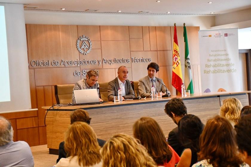 Presentación PACES y Rehabilitaverde. Felipe Castro, antonio Muñoz y Javier Gómez Ramallo.